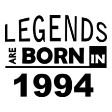 Legends are Born in 1994 Legends-are-born-in- T-Shirt