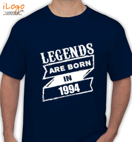 Legends are born in %C%C - T-Shirt