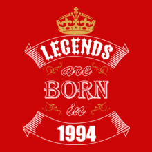 Legends are Born in 1994 Legends-are-born-.. T-Shirt