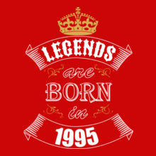 Legends are Born in 1995 legends-are-born-in-%C T-Shirt
