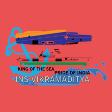 Indian Navy INS-VIKRAM T-Shirt