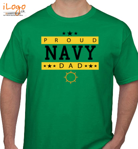 NAVY DAD - T-Shirt