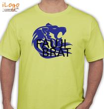Army Brat BLUE-LION-FAUJI-BRAT T-Shirt