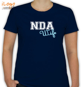 nda-wife-only-text - T-Shirt [F]