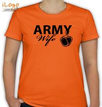 Army Wife army-wife-locket T-Shirt