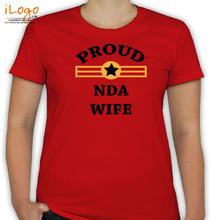 Army Wife NDA-WIFE-STAR T-Shirt