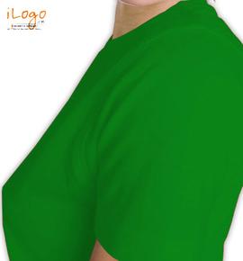 army-wife-slogan-on-green Left sleeve