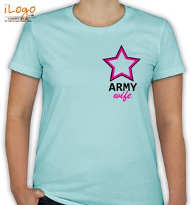 army-wife-logo - T-Shirt [F]