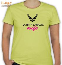 Air Force Wife air-force-logo T-Shirt