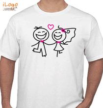 Love couple T-Shirt