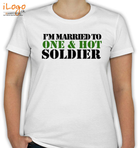 IM-MARRIED-TO-SOLDIER - T-Shirt [F]