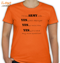 Army Wife wife-of-soldier T-Shirt