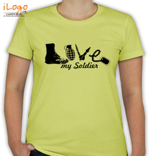 Army Wife combination-of-soldier-things T-Shirt