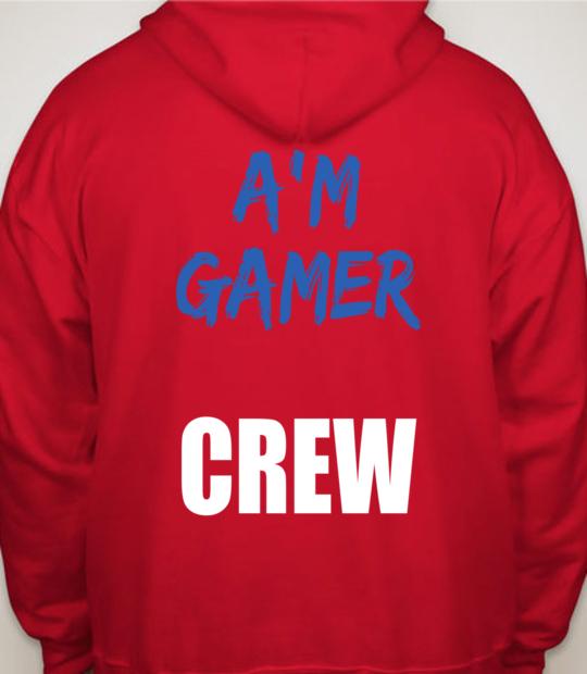 red support a'm gamer:back
