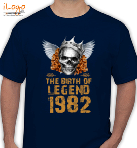 LEGENDS BORN IN  - T-Shirt