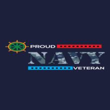Indian Navy veteran-navy T-Shirt