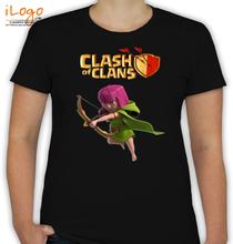 Clash of Clans Archer-coc T-Shirt