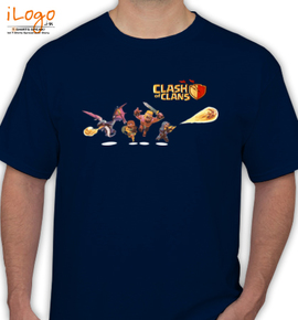 Clash-of-c - T-Shirt