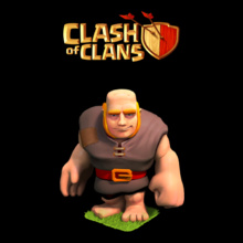 Clash of Clans Giant T-Shirt