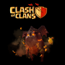 Clash of Clans lava-hound T-Shirt