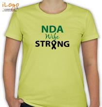 Army Wife NDA-WIFE-STRONG T-Shirt