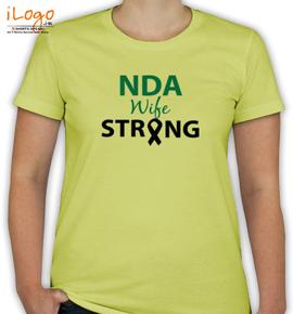 NDA-WIFE-STRONG - T-Shirt [F]