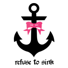 Navy refuse-to-sink T-Shirt