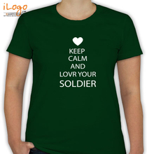 Army Wife LOVE-UR-SOLDIER T-Shirt