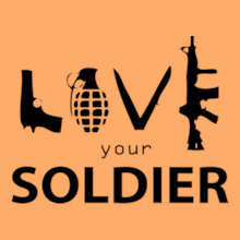 LOVE-UR-SOLDIER-ARMS T-Shirt