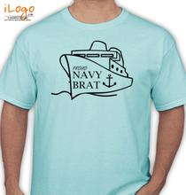 Naval Brat PROUD-NAVY-BRAT-BOAT T-Shirt