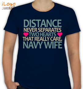 distance never separate hearts - T-Shirt [F]