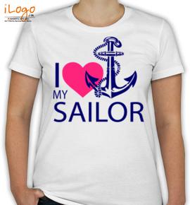love my anchor sailor - T-Shirt [F]