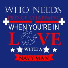 Navy Wife prince-charming T-Shirt