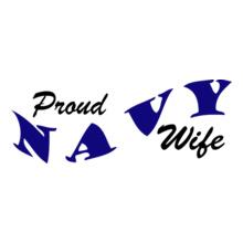 Navy Wife proud-wife-of-navy T-Shirt