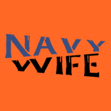 Navy Wife navy-wife-in-blue T-Shirt