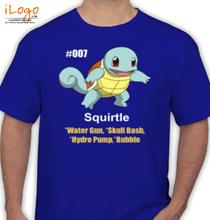 Pokemon Go pokemon-squirtle T-Shirt