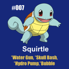 pokemon-squirtle T-Shirt