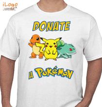 Pokemon Go pokemon-donate T-Shirt