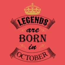 Legends-born-in-OCTOBER. T-Shirt