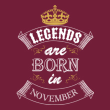 legends-born-in-november. T-Shirt