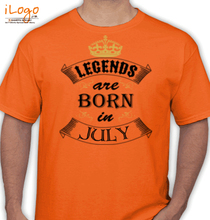 legend-born-in-july T-Shirt
