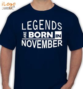 legend borin november - T-Shirt