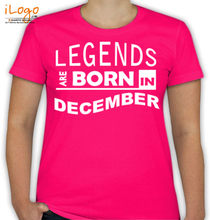 Birthday legend-bornin-december T-Shirt
