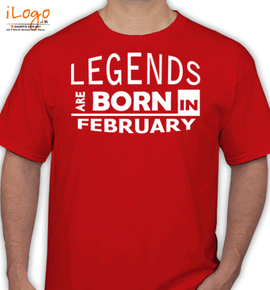 legend borin february - T-Shirt