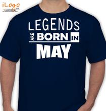 Birthday legend-borin-may T-Shirt