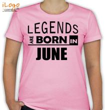 Birthday legend-bornin-june T-Shirt
