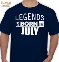 Birthday legend-bornin-july T-Shirt
