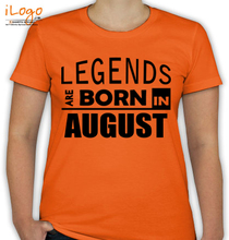 Birthday legend-borin-august T-Shirt