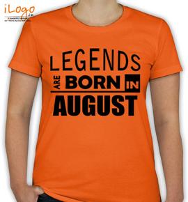legend borin august - T-Shirt [F]