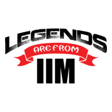 Alumni Reunion legends-are-from-IIM T-Shirt